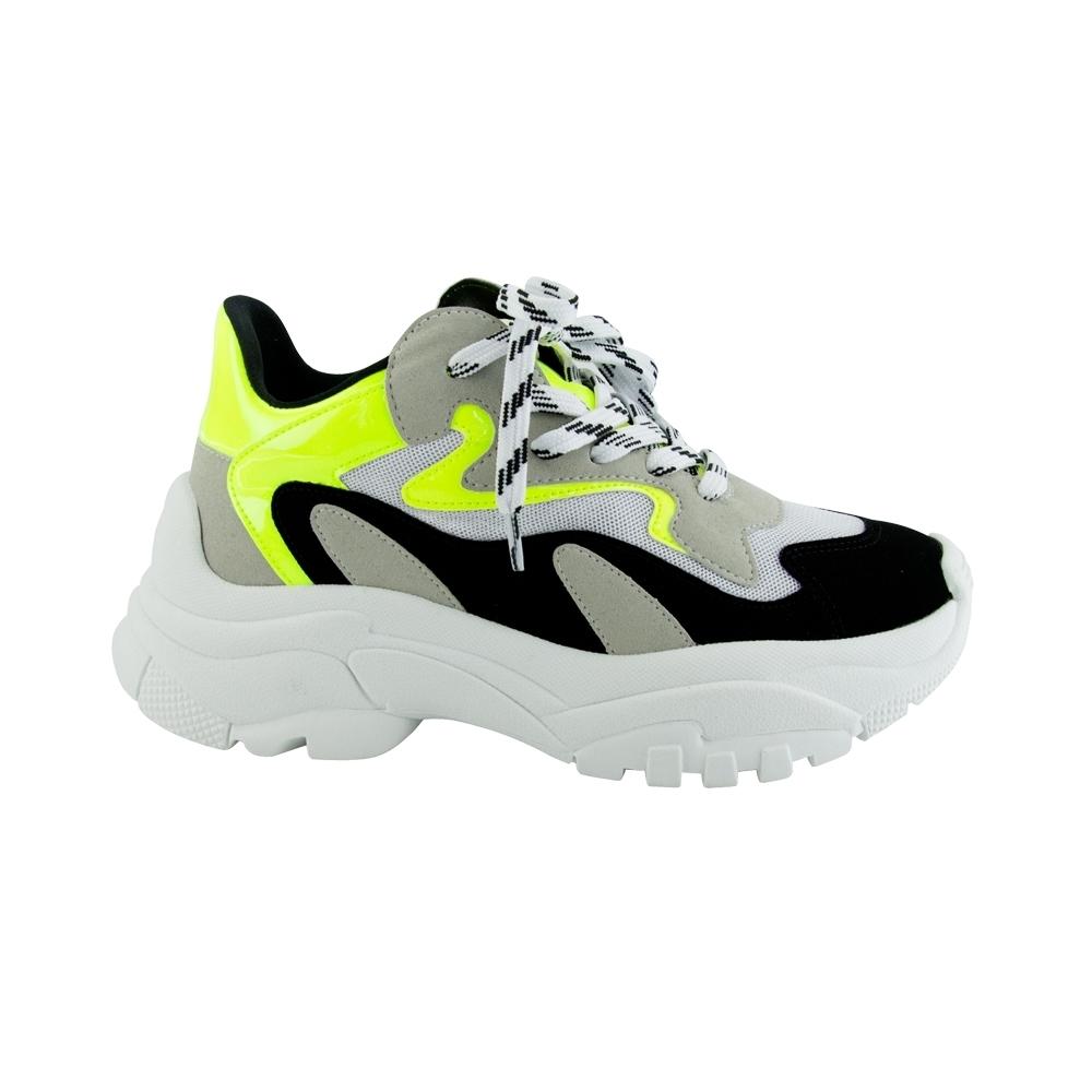 activación en frente de al límite  Sneaker Feminino Harper Preto e Amarelo Neon: Comprar Tênis - Tênis Harper  Preto e Amarelo Neon - Cocco Miami